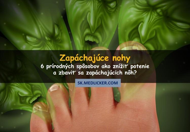 Ako sa zbaviť zapáchajúcich nôh? Skúste týchto 6 prírodných spôsobov