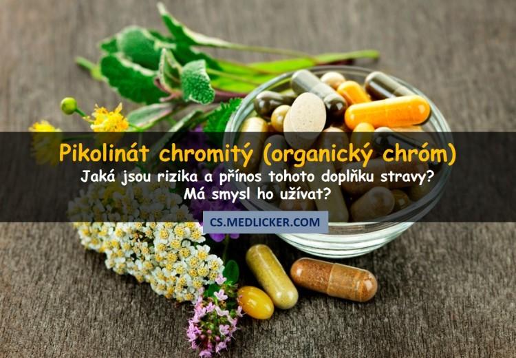 Pikolinát chromitý (organická forma chromu): má smysl ho užívat?