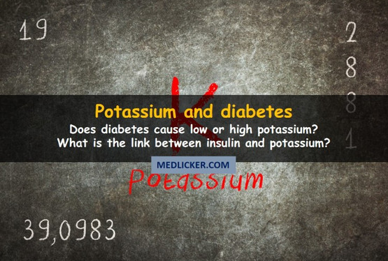 Potassium and diabetes: what is the link?