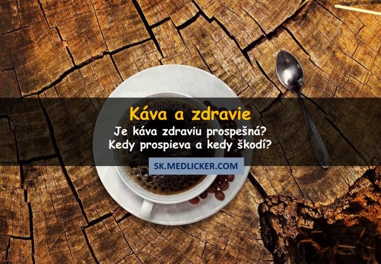 Káva a zdravie - prospieva alebo škodí?