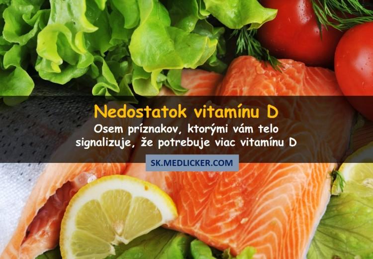 Nedostatok vitamínu D - ako sa prejavuje a prečo je nebezpečný?