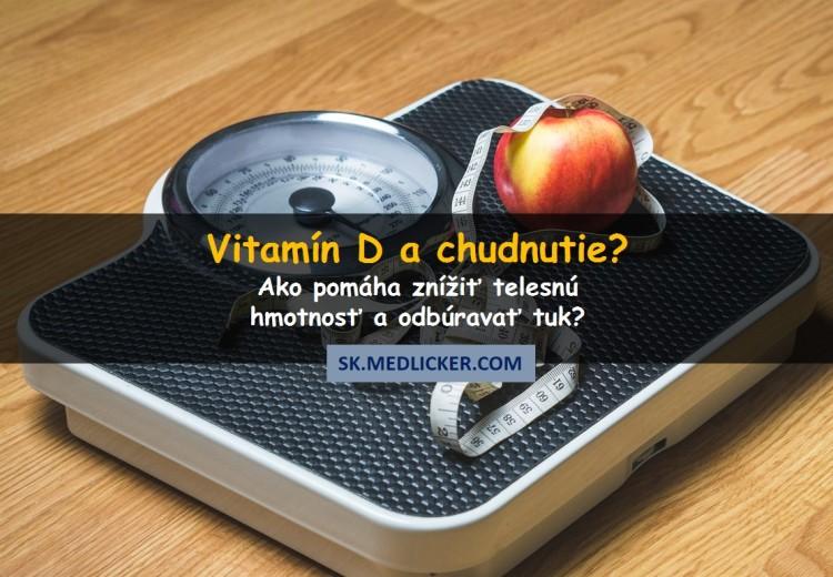 Môže vitamín D pomáhať pri chudnutí?