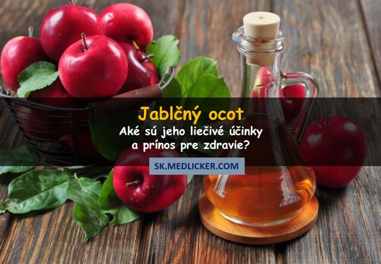 6 liečivých účinkov jablčného octu