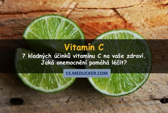 7 skvělých účinků vitamínu C na zdraví