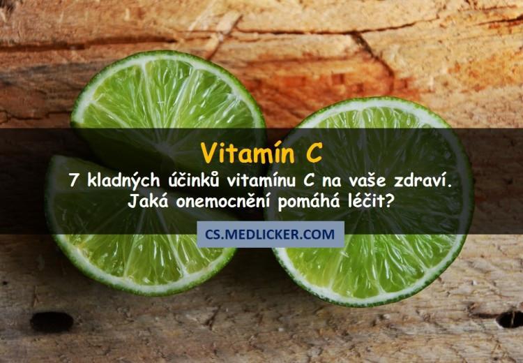 7 skvělých účinků vitamínu C na vaše zdraví