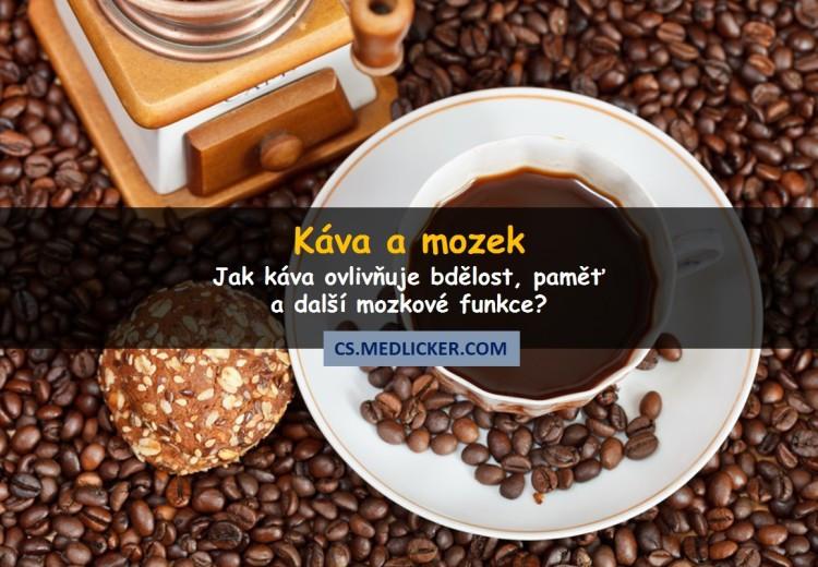 Jaké jsou účinky kávy a kofeinu na mozek?