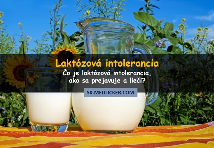 Čo je to laktózová intolerancia, ako sa prejavuje a lieči?