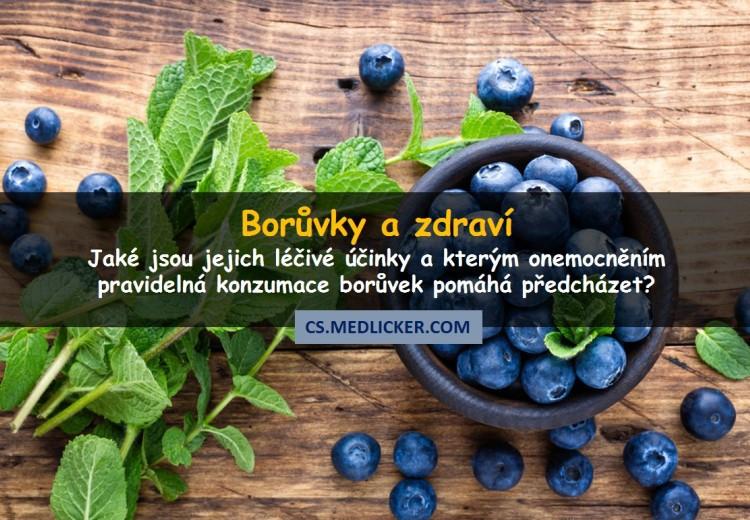 10 prověřených zdravotních účinků borůvek