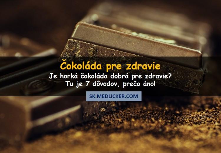Prečo jesť čokoládu a aké sú jej účinky na vaše zdravie?