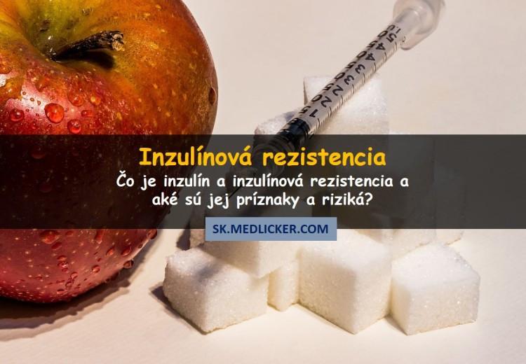 Inzulín, prediabetes a inzulínová rezistencia: príznaky a riziká