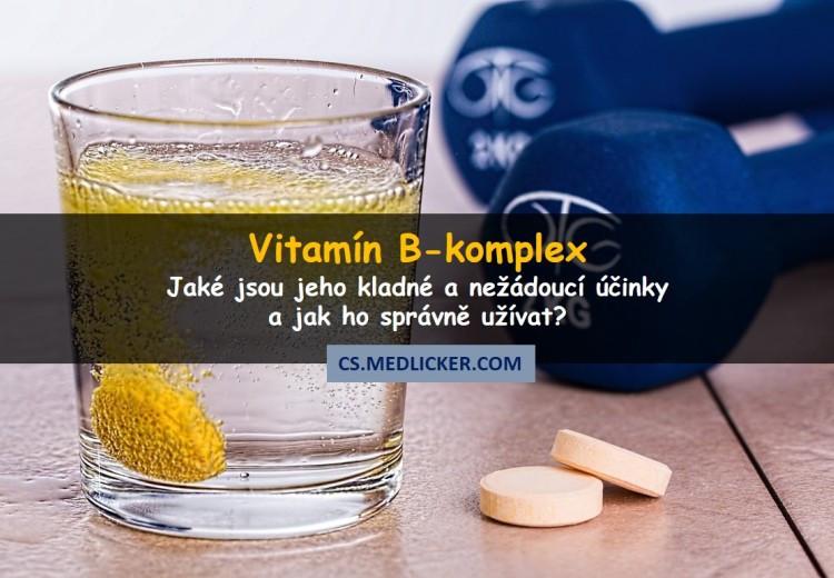 Vitamín B-komplex: výhody, nežádoucí účinky a dávkování