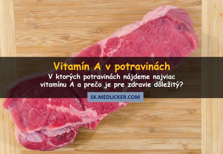 20 potravín bohatých na vitamín A