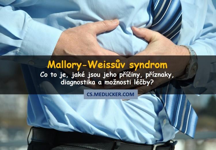 Co je Mallory-Weissův syndrom, jak se projevuje a léčí?