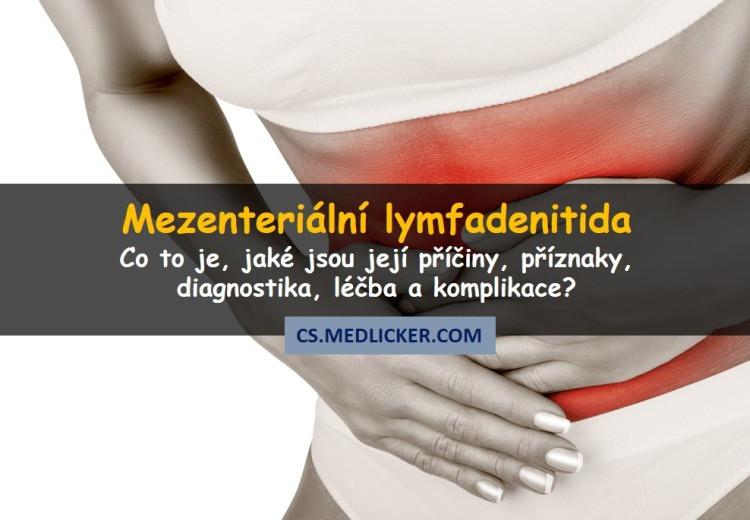 Co je mezenterická lymfadenitida, jak se projevuje a léčí?