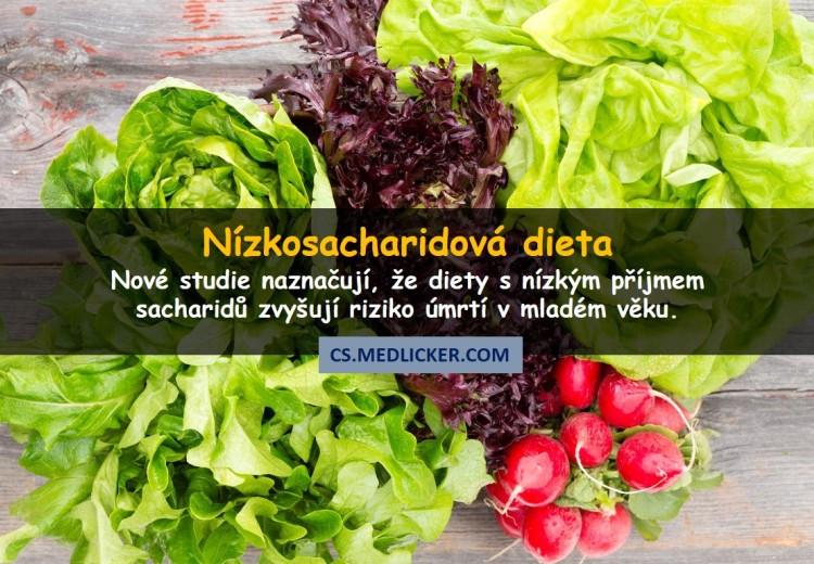 Nízkosacharidová strava může zvyšovat riziko předčasného úmrtí