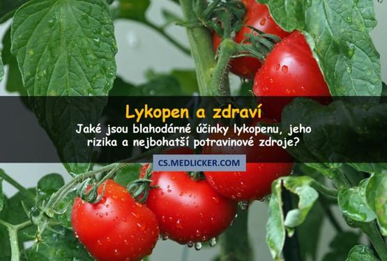 Lykopen: účinky na zdraví a potravinové zdroje