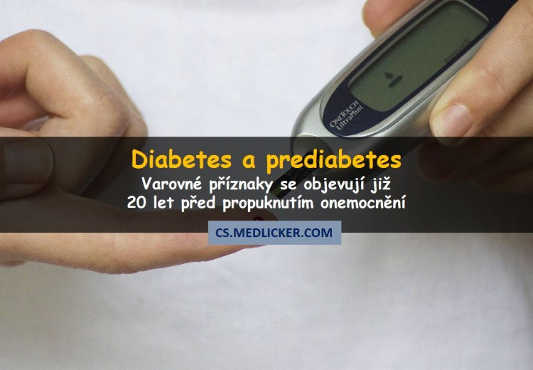 Diabetes druhého typu začíná i 20 let před diagnózou
