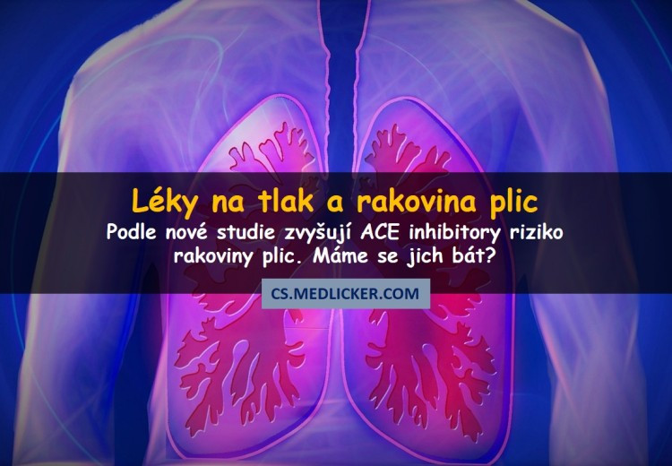 Běžně používaný lék může zvyšovat riziko rakoviny plic