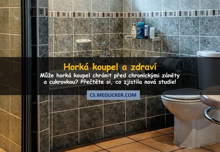 Horké koupele zmírňují projevy zánětu a zlepšují metabolizmus glukózy