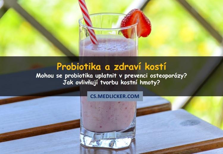 Osteoporóza: mohou probiotika chránit zdraví kostí?