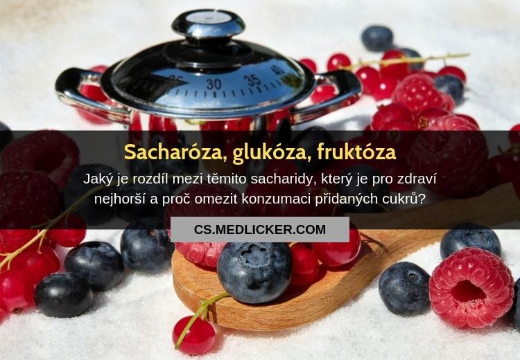 Sacharóza vs glukóza vs fruktóza: jaký je mezi nimi rozdíl?