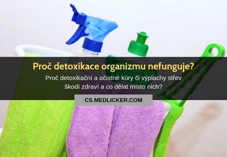 Varování před detoxikací organizmu: proč oblíbené detoxy a očistné kúry nefungují?