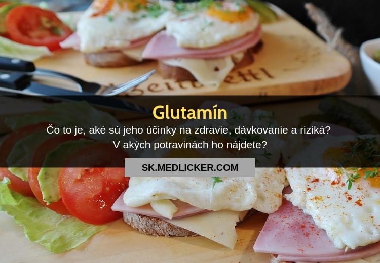 Glutamín, jeho vplyv na zdravie, dávkovanie a nežiaduce účinky