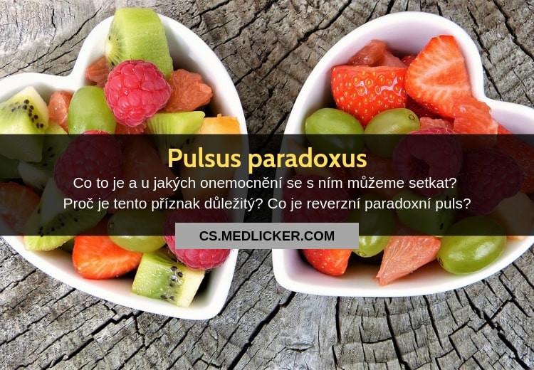 Co je pulsus paradoxus?