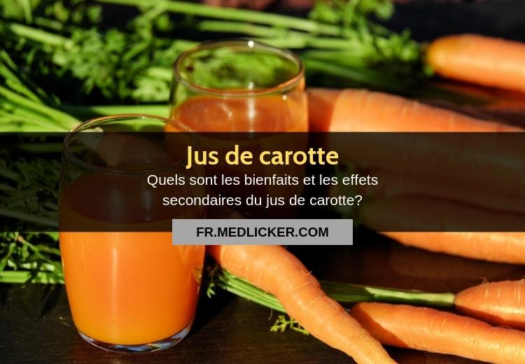 8 bienfaits du jus de carotte