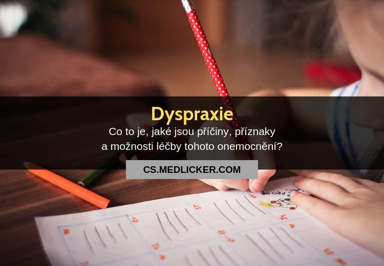 Co je dyspraxie?