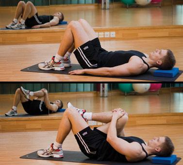 Cvičenie na lumbago (úsad) - 1