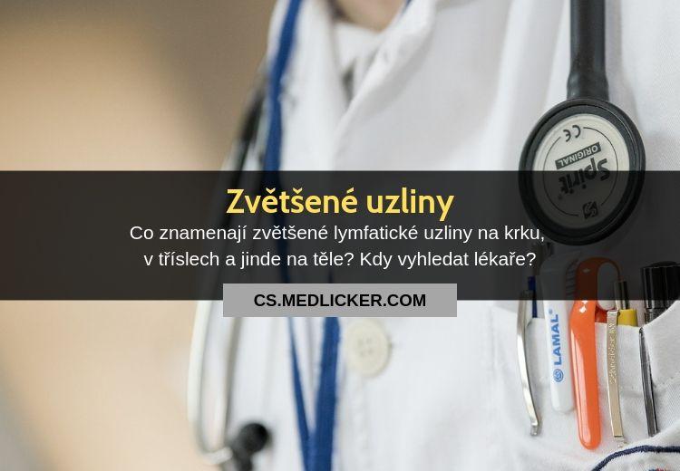 Zvětšené uzliny: co znamenají a kdy vyhledat lékaře?