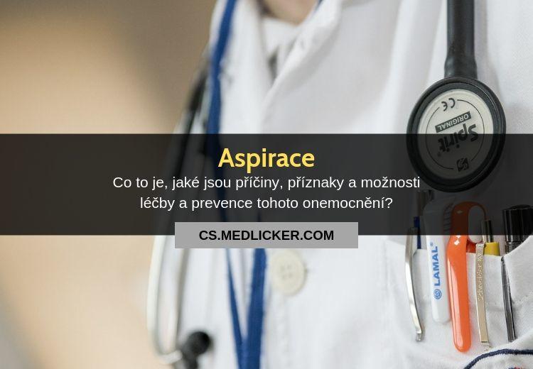 Co je aspirace?