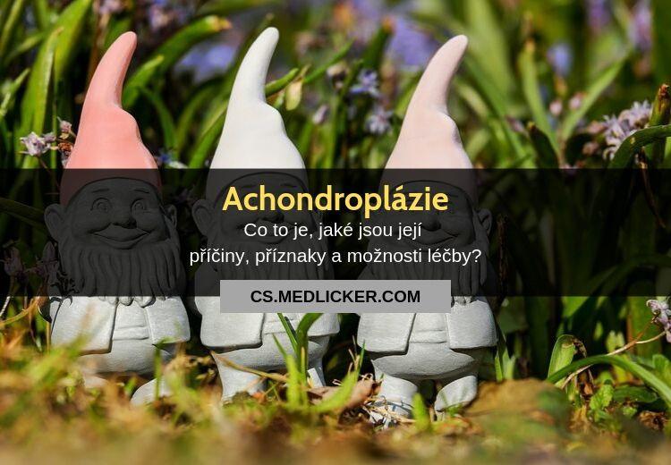 Achondroplázie: vše co potřebujete vědět