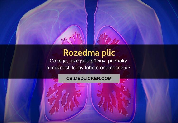 Rozedma plic (plicní emfyzém): vše co potřebujete vědět