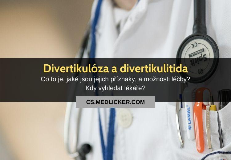 Divertikulitida a divertikulóza