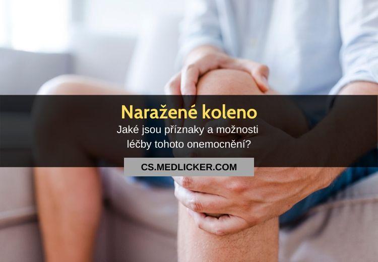 Naražené koleno: vše co potřebujete vědět