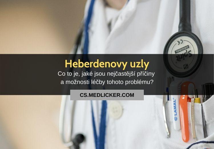 Heberdenovy uzly: vše co potřebujete vědět
