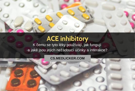 Co jsou ACE inhibitory, kčemu se používají a jak fungují?