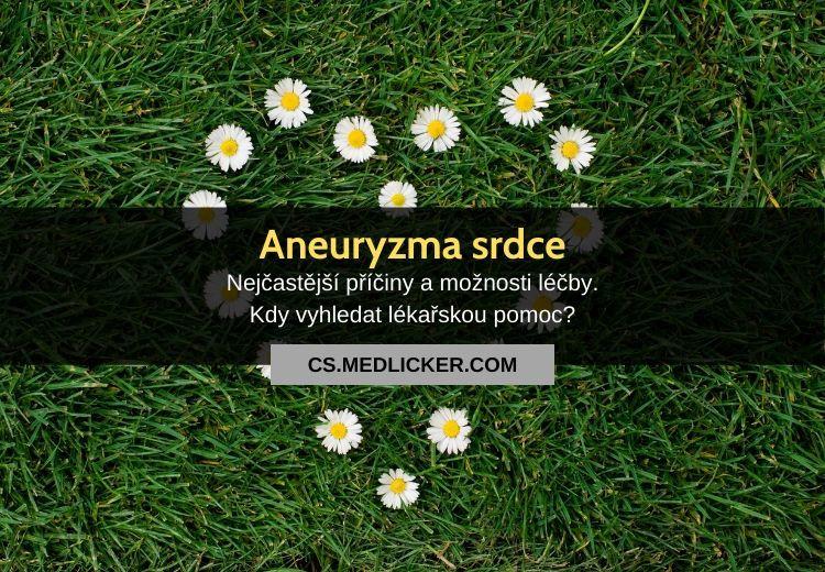 Aneuryzma srdce: vše co potřebujete vědět