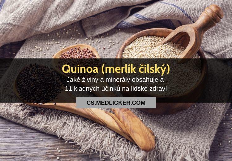 Quinoa (merlík čilský): vše co potřebujete vědět!