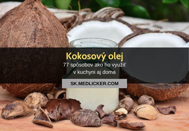 77 možností, ako používať kokosový olej