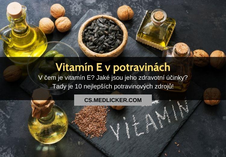 Potraviny s vitaminem E: v čem ho je nejvíce?