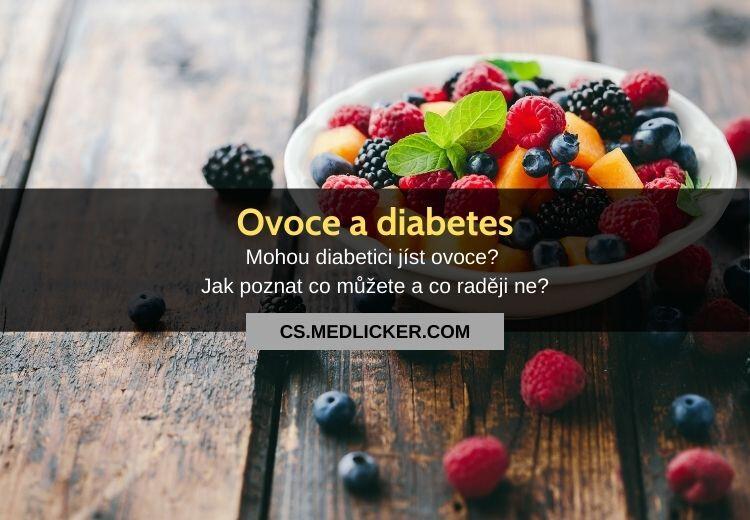 Ovoce pro diabetiky: co a jaké množství jíst?