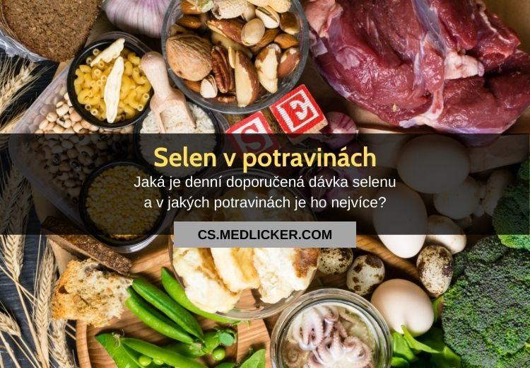 Které potraviny obsahují nejvíce selenu?