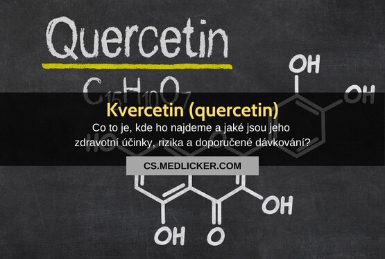 Kvercetin (quercetin): vše co potřebujete vědět