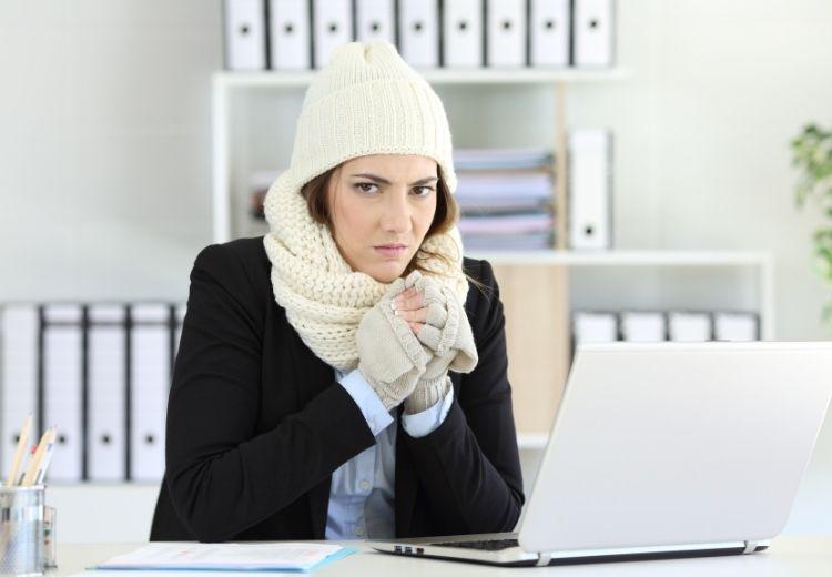 Jedným z príznakov nedostatku jódu v tele je zimomravosť
