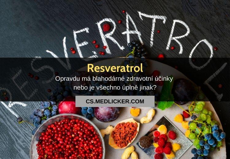 Je resveratrol opravdu zázračně účinný přírodní lék?