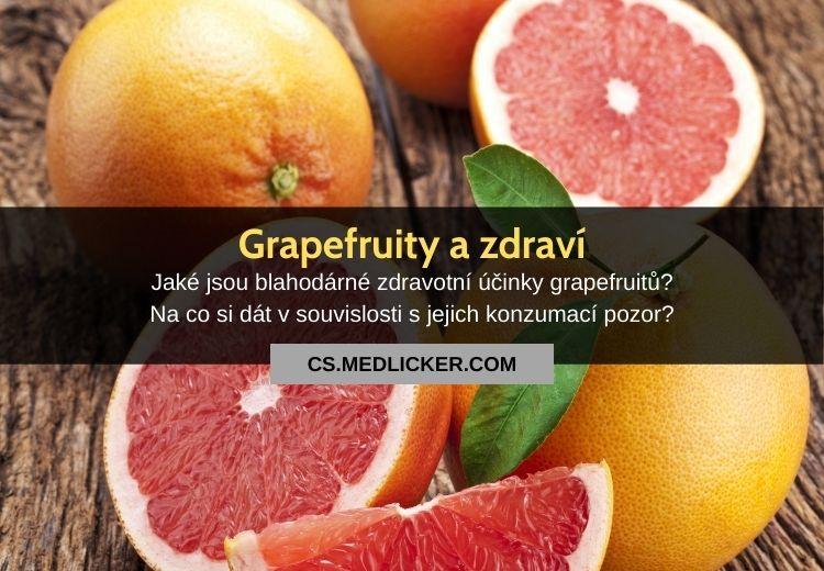 Grapefruit a jeho zdravotní účinky: vše co potřebujete vědět!