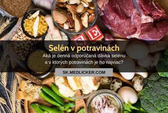 Ktoré potraviny obsahujú najviac selénu?